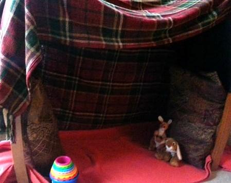 How to make a children's den