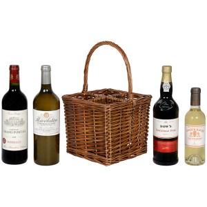 Wine basket gift