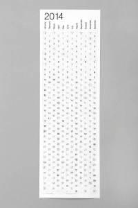 2014 designer calendar