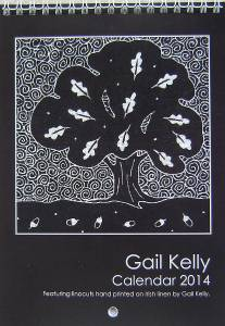 Designer calendar by Gail Kelly