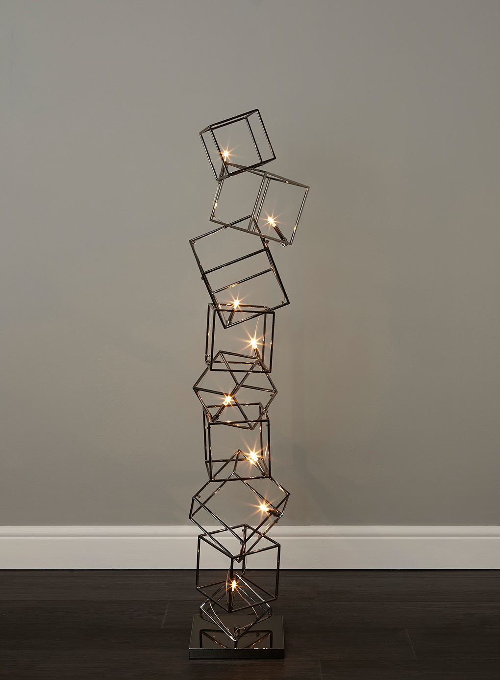 Statement lighting: Dexter 8 cube floor lamp ~ Fresh Design Blog