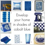 Fresh Design colour: Cobalt blue home decor ideas