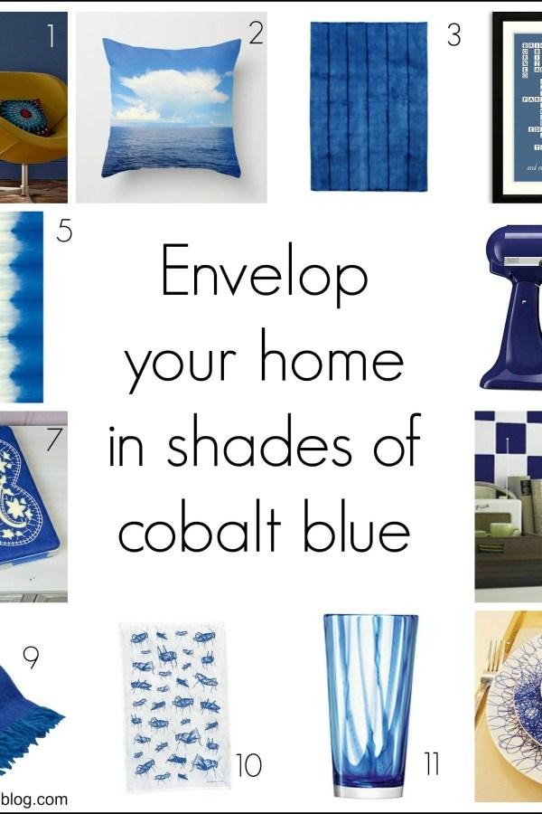 Fresh Design colour: Cobalt blue home decor ideas