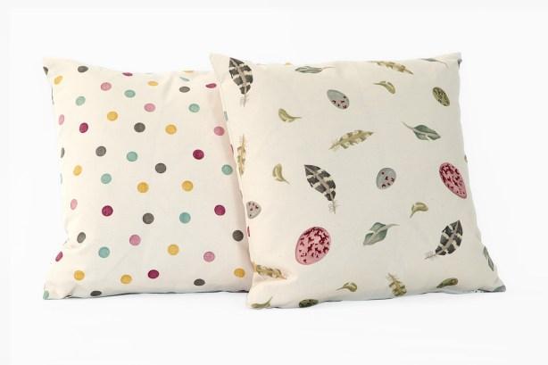 Emma Bridgewater designer fabric cushions