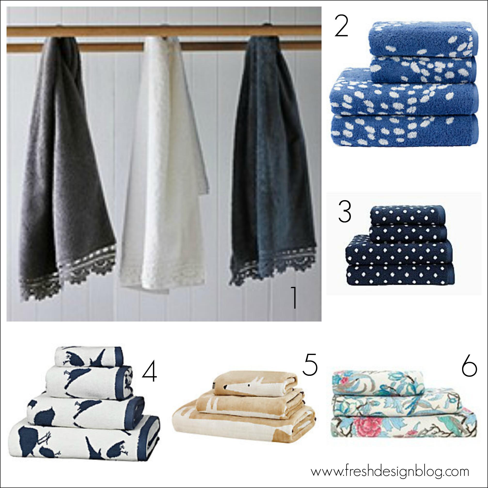 Towel-tastic: Fluffy bathroom towel sale bargains ~ Fresh Design Blog