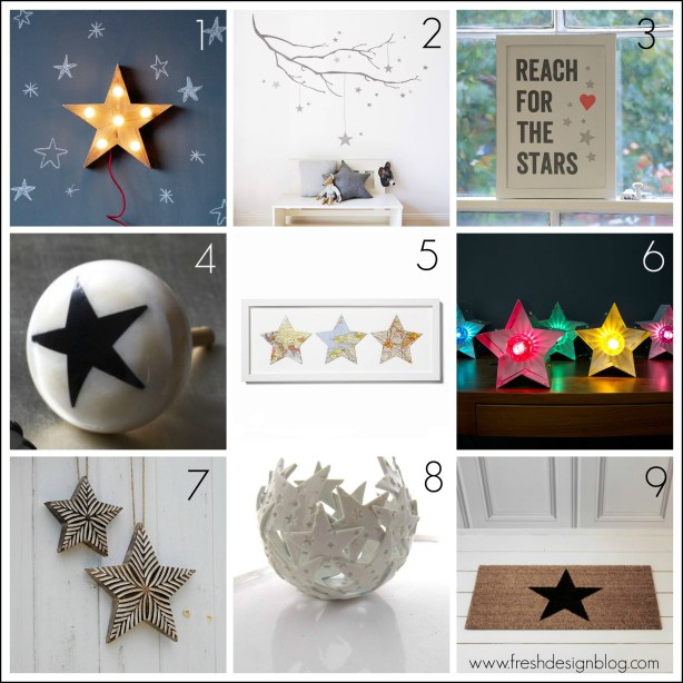 Star themed home inspiration