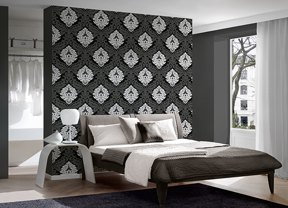 Monochrome wallpaper trend