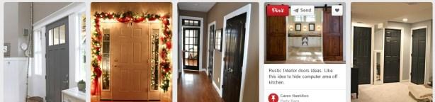 Fresh design home door ideas from Pinterest