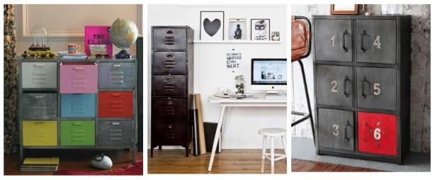 Fresh design industrial style storage cabinets