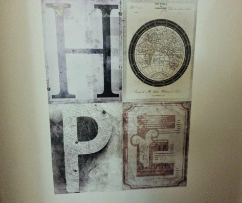 1Wall hope wall art collage by Fresh Design Blog