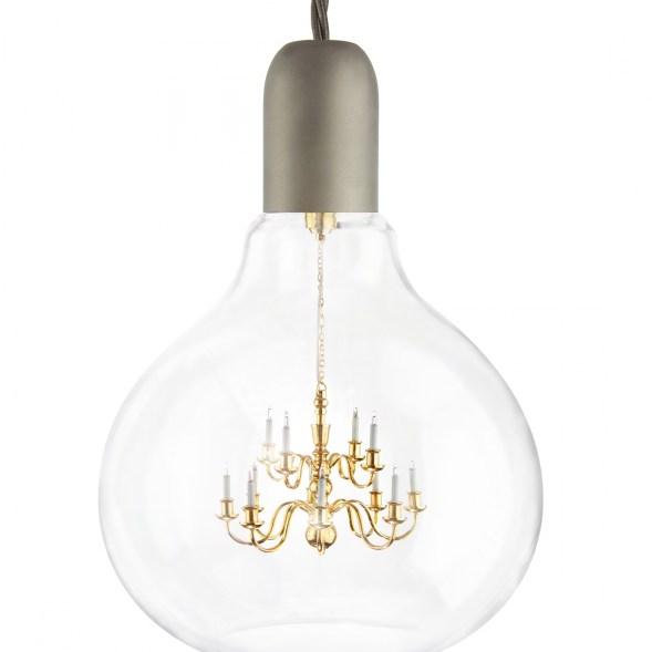 Unusual pendant lamp for fresh design lighting