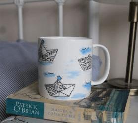 Pint mug from Laura Lee Designs