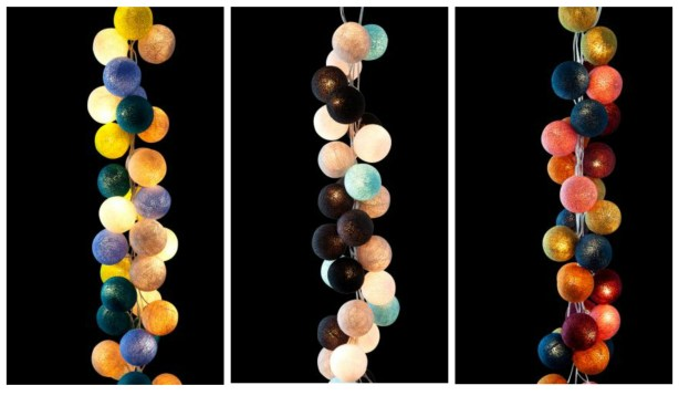 Contemporary fairy lights by Cotton and Candy