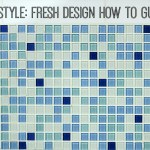 Tile style: how to tile a feature area of a wall