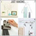 Hang in style: 4 creative and unusual hooks and hangers
