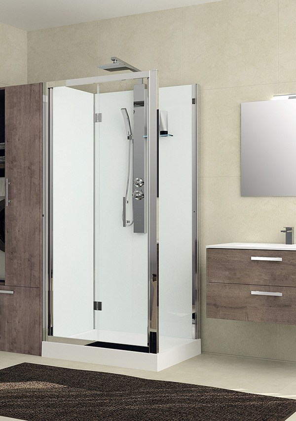 New contemporary bathroom concepts launched by Novellini at ISH