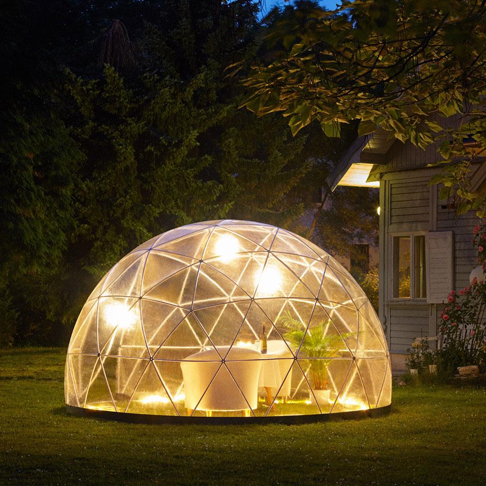 Fresh design ideas contemporary garden igloo outdoor room for Build your own garden room