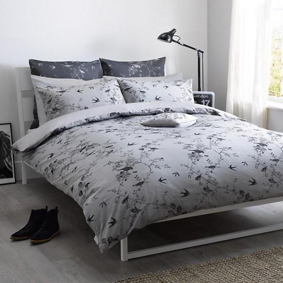 Grey bedroom bedding decor ideas