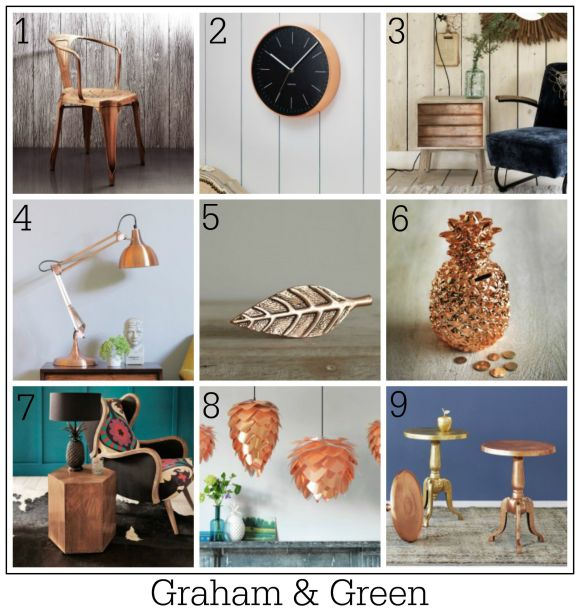 100 ways to use copper in your home