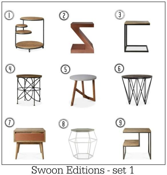 Swoonworthy side tables