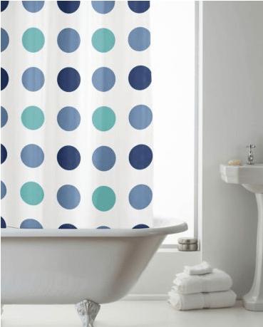 Update your bathroom: 10 stylish shower curtains ~ Fresh Design Blog
