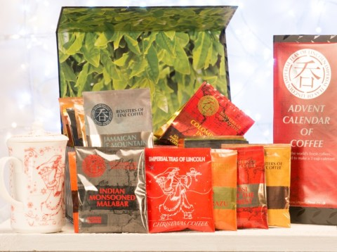 Countdown to Christmas with an advent calendar of coffee