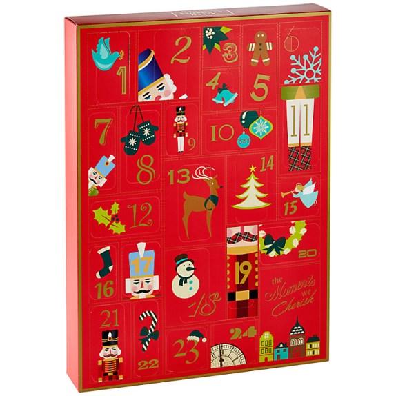 Arran Aromatics Cherish advent calendar with home and body treats
