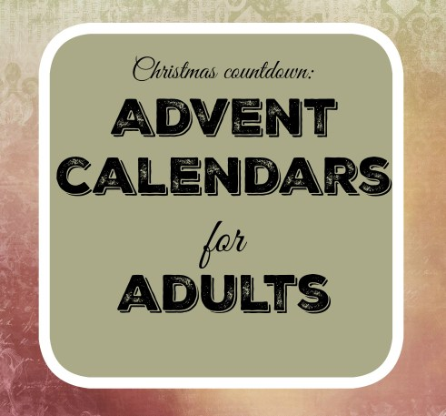Advent calendars for adults 2015