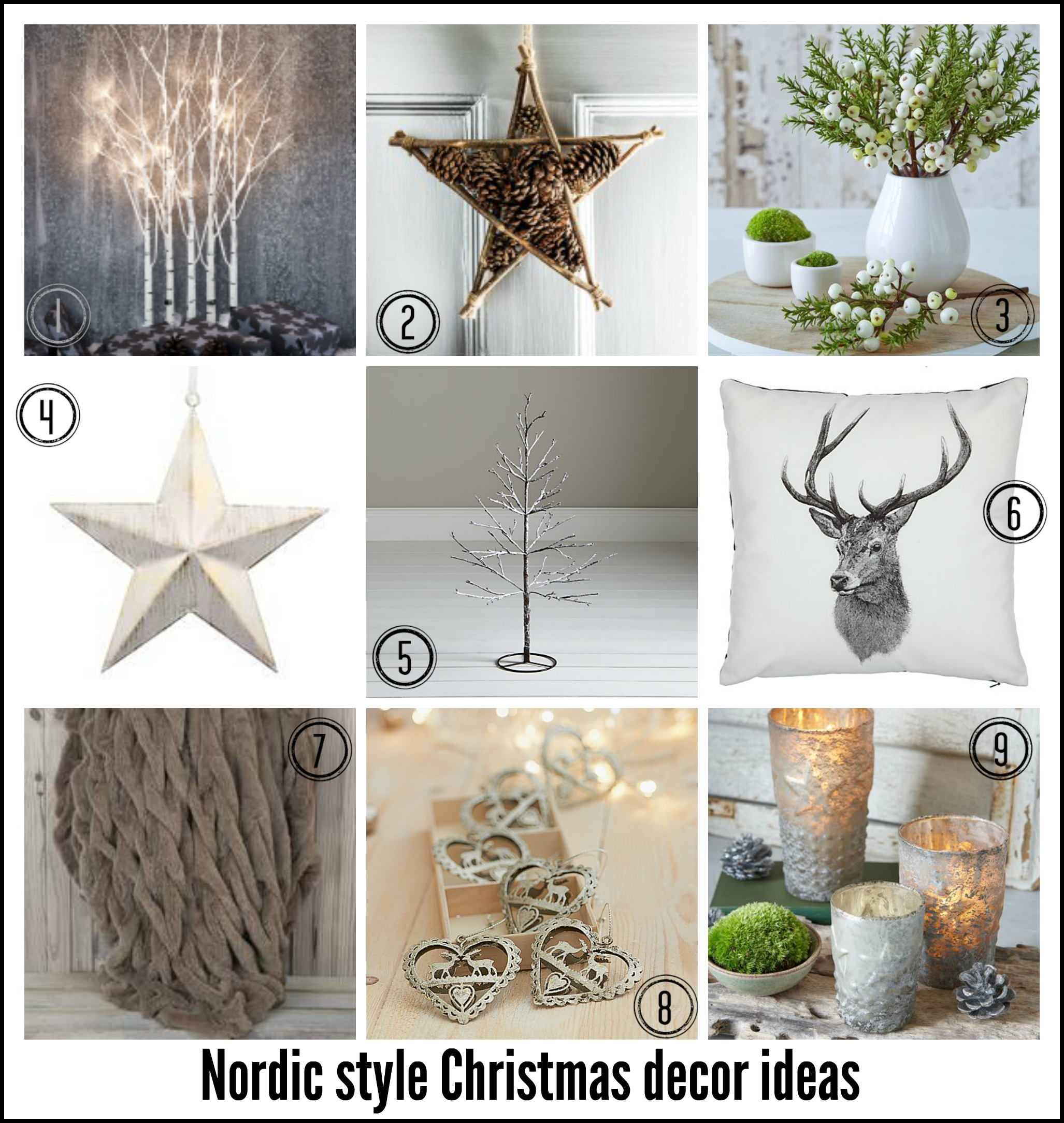 Nordic Small Fresh Home Design 4: Five Ways To Create A Nordic Christmas Style In Your Home