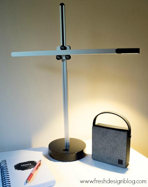Modern CSYS Desk task lamp by Jake Dyson: Review ~ Fresh Design Blog