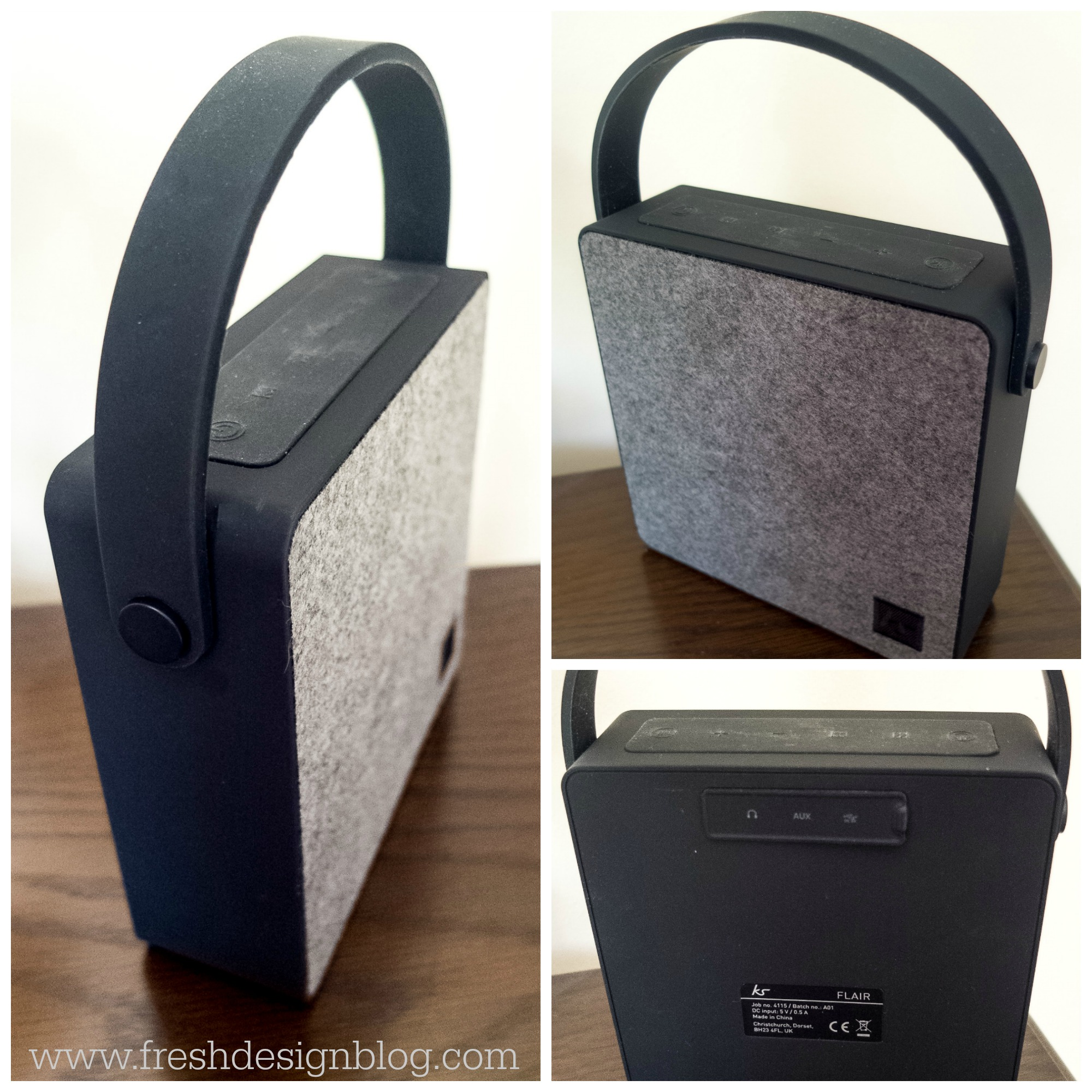 Stylish And Functional Flair Bluetooth Speaker By Kitsound Fresh Design Blog