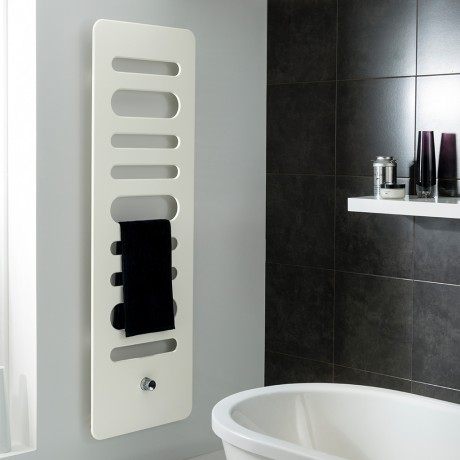 Love this super slimline modern design radaitor. Wouldn't this look super in a contemporary bathroom?