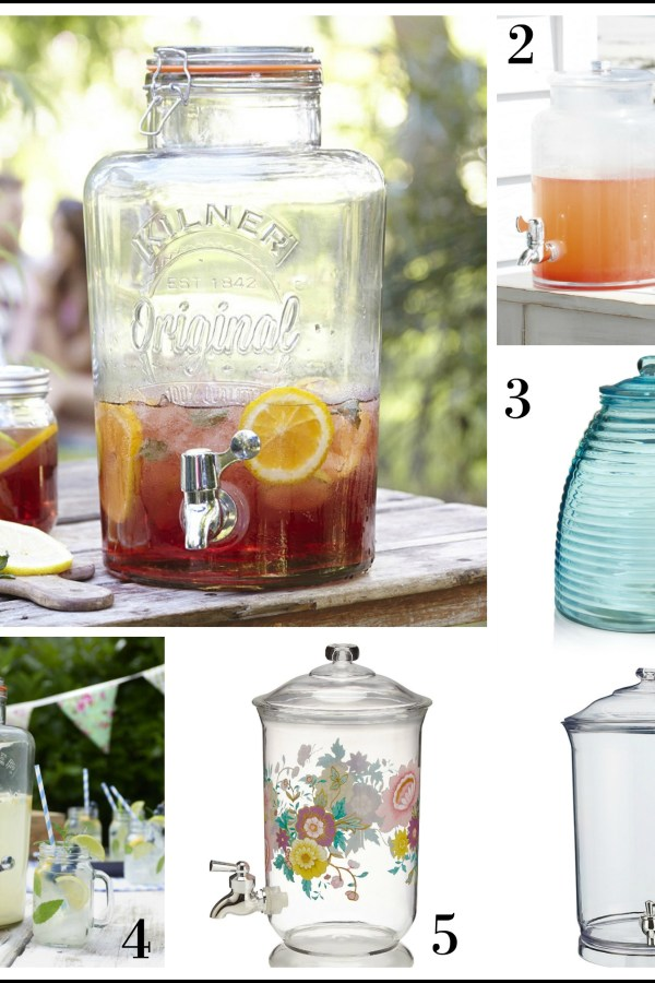 Fresh Design Finds: Summer drinks dispensers