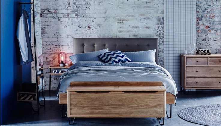What do you get if you combine mid-century modern with industrial style? The adorable Brunel furniture from Heal's.