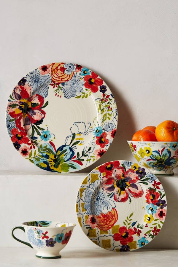 Floral delight: Colourful Sissinghurst Castle ceramic range