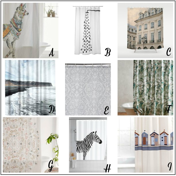 Shower in style, with a fresh new shower curtain. Designs and prices to suit all budgets