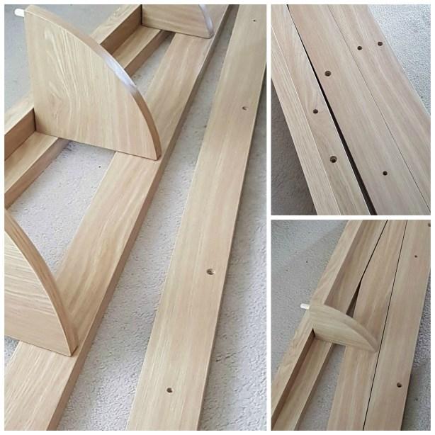 How to build the flat pack Quinn corner bookshelf from Matalan.