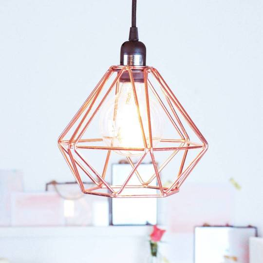 Stylish geometric design ceiling pendant light to add a contemporary touch to your home