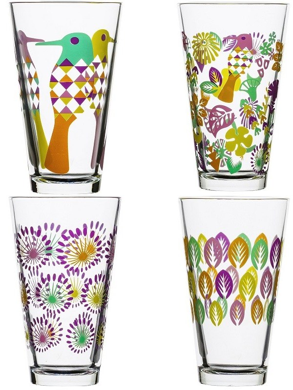Fresh Design Finds: Colourful Scandi glassware offers