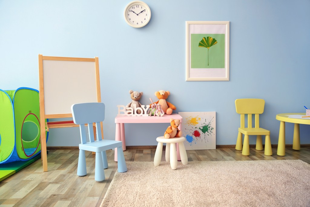 Need a playroom? Why not consider converting your garage into a dedicated kids playroom.
