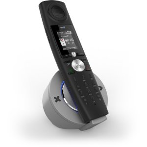 The BT Halo cordless phone uses bluetooth technology to sync with your mobile
