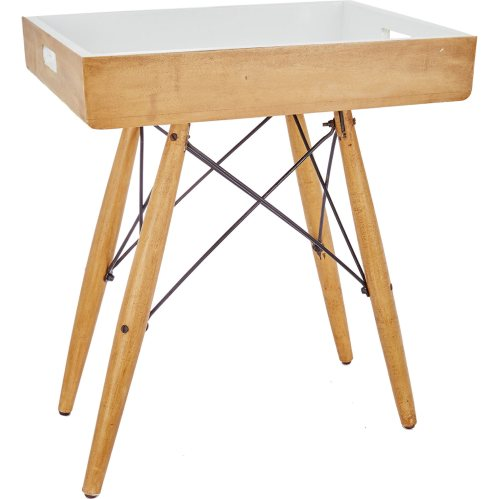 This tray table is so useful! Use it as a handy side table, or take the tray top off and use for serving drinks
