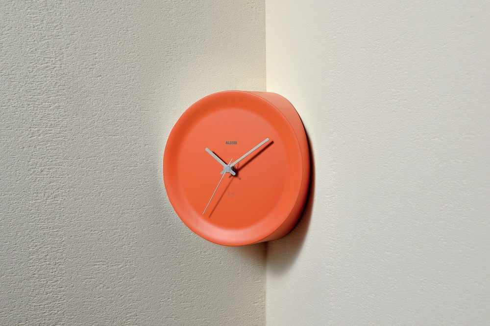 Alessi corner wall clock, £65