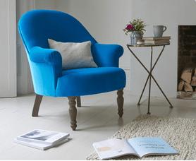 blue-plush-velvet-armchair-british