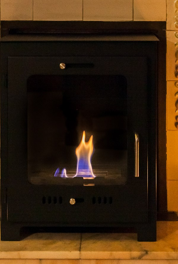 Heat your home and go green with an eco-friendly bioethanol fireplace