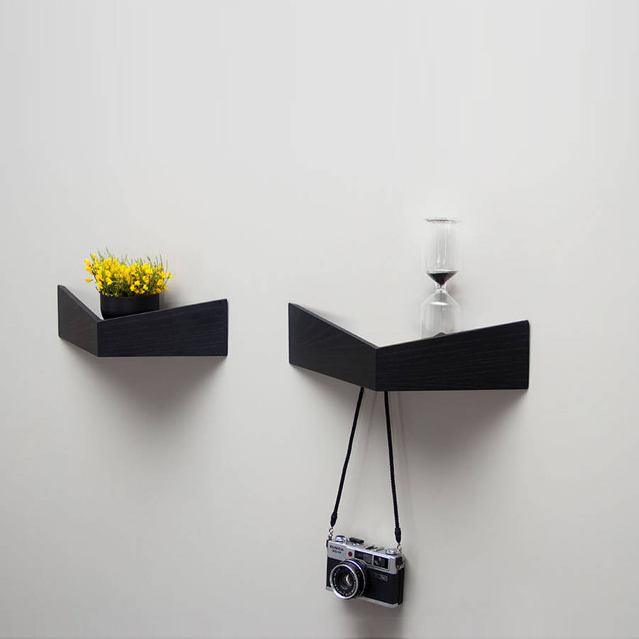 Unusual design shelf unit inspired by pelican birds