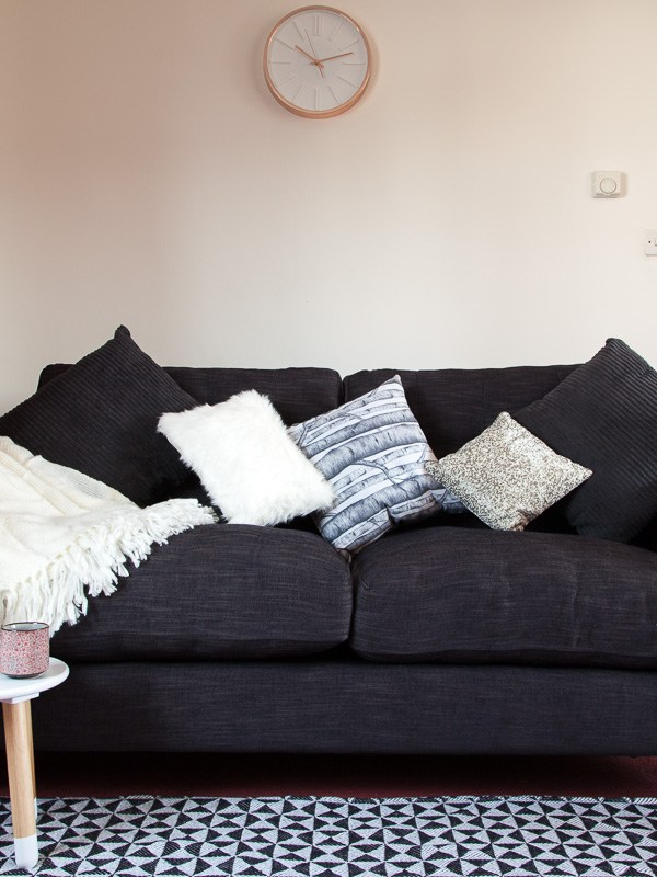 Family living room makeover with Dfs