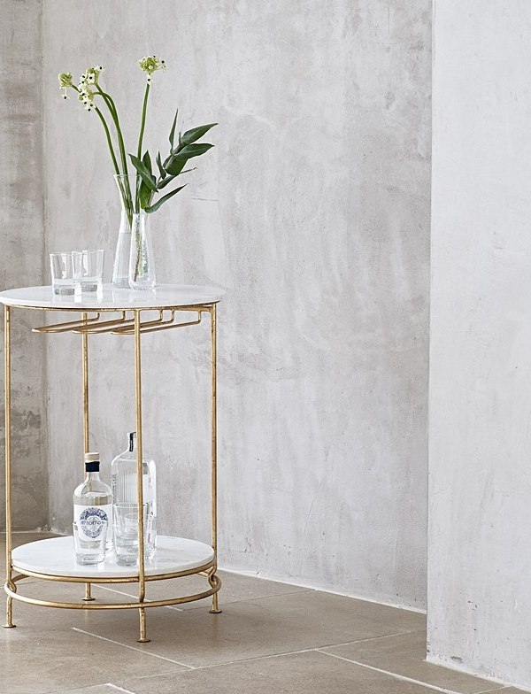 Party essentials: super stylish bar carts and wine racks