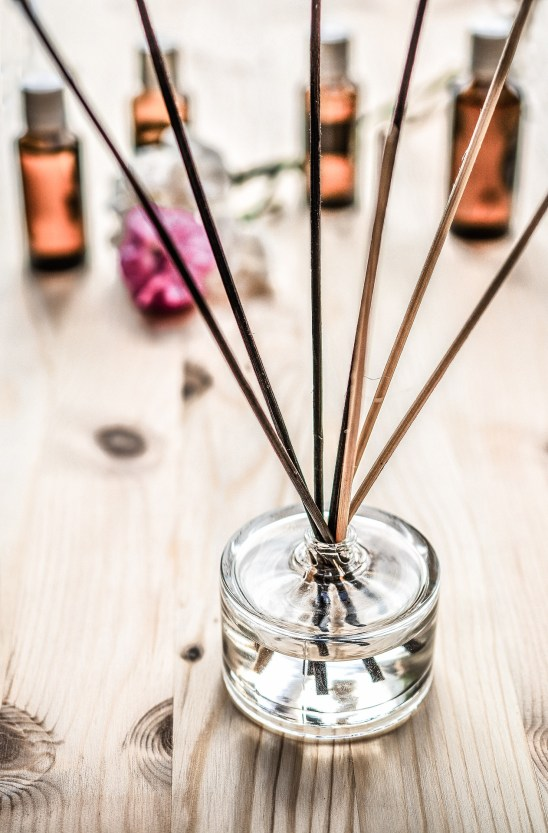 Use scented candles and diffusers to add a  welcoming fragrance to your home