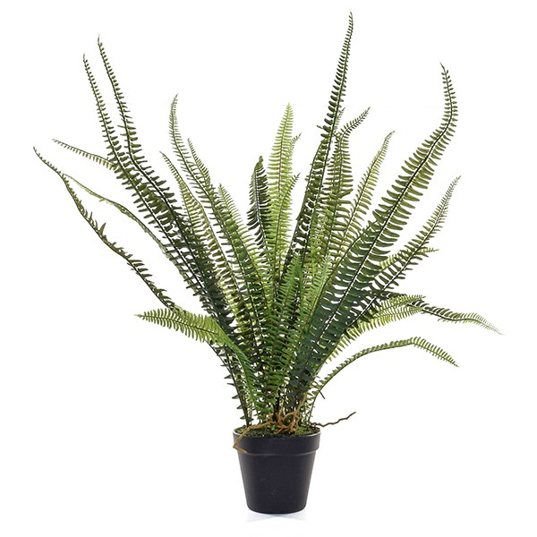 Artificial forest fern - great for use in a conservatory or garden room